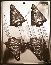 Fancy Christmas Tree with Decorations Pop Chocolate Plastic Candy Mold C173