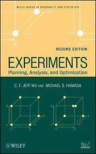 Wiley Series in Probability and Statistics: Experiments : Planning, Analysis,...