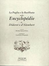 La Puglia e la Basilicata nella Encyclopedie di Diderot e D'Alembert 2002 D'Oria