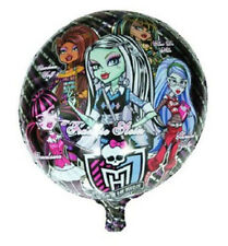"Monster High 18"" Round Party Balloon Helium Birthday Decoration Celebration"