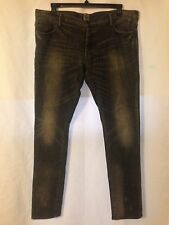 PRPS Men's Black Denim Jeans Size 38 Buttonfly