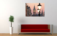 LONDON BIG BEN CLOCK NEW GIANT LARGE ART PRINT POSTER PICTURE WALL
