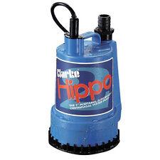 """Submersible pompe à eau 85 être/min, clarke 1"""" hippo 2 bassins cascades"""