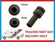 OZ FUTURAS Split Rim Alloy Wheel Air Impact Socket 10 Point 1/2 Drive 10mm 8mm