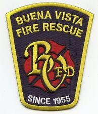 BUENA VISTA MICHIGAN MI Fire Rescue FIRE PATCH