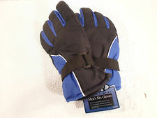 Gloves Men's L Rugged Wear Ski Winter Snow Waterproof Insert Large Blue