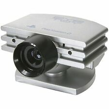 PLAYSTATION 2 * EYETOY Silver Fotocamera ps2ps3 PLAYSTATION 3 Webcam Eye Toy * NUOVA
