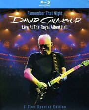 David Gilmour: Remember That Night - Live from R Blu-ray Region A