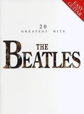The Beatles 20 Greatest Hits Easy Guitar Learn to Play Pop Rock Music Book