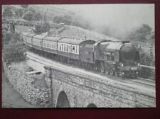 POSTCARD SOUTHERN RAILWAY LORD NELSON CLASS LOCO NO 850 'LORD NELSON' IN 1980