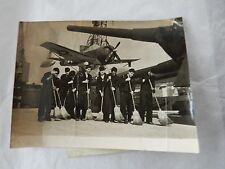USS HELENA @ SOUTHAMPTON     ORIG WW2 ERA PRESS PHOTO USN