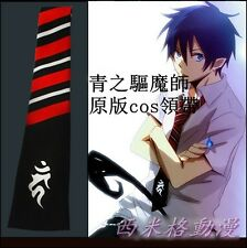 Ao no Blue Exorcist Rin Okumura Anime Cosplay Costume Tie