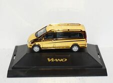 Herpa Mercedes-Benz Viano dcvd-Collection nº 10 oro 1:87 en PC y en su embalaje original