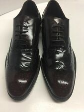 Banana republic Mens 10.5 Cordovan Wing Tip Lace up Leather Shoes