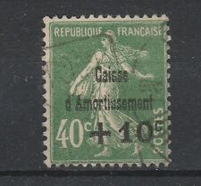 FRANCOBOLLI 1931 FRANCIA 10 SU 40 VERDE OLIVA Z/4362