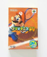 Game / Juego Mario Tennis 64 Nintendo 64 NTSC ¡Completo! (Original) (Jap) (N64)