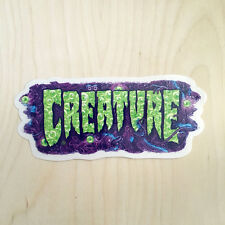 Creature skateboards vinyl sticker decal bumper detox fish sea pollution eyes