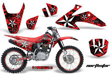 Honda CRF 150/230f Graphic Kit AMR Racing # Plates Decal Sticker Part 08-13 NSR