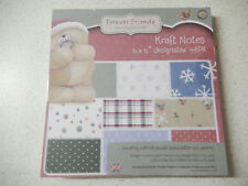 "Docrafts: ""Forever Friends"" 48x Papier ""Kraft Notes Christmas"" 15,2x15,2cm -15"
