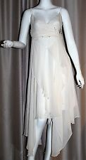 PORTMANS - Ivory Silk Beaded Cocktail Dress Size 12