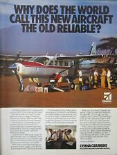 6/1992 PUB AVION CESSNA GRAND CARAVAN AIRCRAFT FLUGZEUG SAFARI LAND ROVER AD