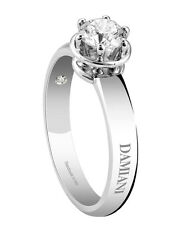 Anello Solitario Damiani Minou 20055679 diamante ring diamond 0,15 kt punto luce