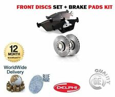 FOR TOYOTA LANDCRUISER 60 4.0D 3980cc 1981-1990 FRONT BRAKE DISCS SET + PADS KIT