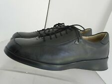 FINN COMFORT GERMANY WOMENS BLACK LEATHER CASUAL DRESS SHOES SIZE 7 M