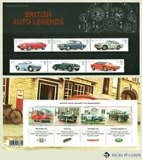 2013 British Auto Legends Cars Stamp Presentation Pack PP462 (printed no.488)