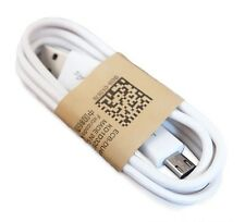 2 X Genuine Samsung Galaxy S4 S3 S2 Note 4 3 2 Charge/Sync USB Data Cable White