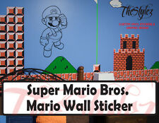 Super Mario Bros. Mario Wall Vinyl Sticker