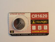 One-(1)- Cr1620 / DL-1620 - Battery-3V-Guaranted-Fast Shipping