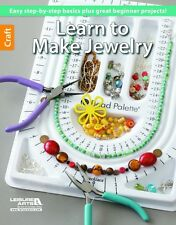 LEARN TO MAKE JEWELRY-Glass Beads/Beaded Basic Technique Wire Craft Idea Book