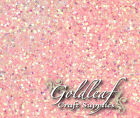Baby Pink Iridescent Nail art glitter for Rockstar Toes - Multi size mix