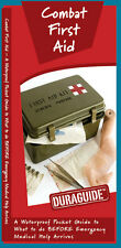 Combat First Aid - Camping Survival Outdoor Guide Book Bug Out Bag Kit