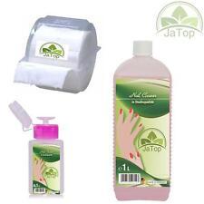 JaTop Nail Cleaner,Nagelcleaner 1l, 300 Zelletten im Einwegspender, Dispender