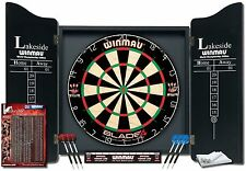 Dart Set Dartboard Wall Mount Play Fun Winmau Lakeside World Championship
