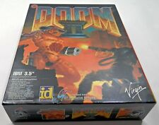 Doom 2 - Rare IBM Big Box 3.5 Floppy Version - Brand New Sealed!!