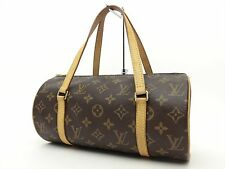 Louis Vuitton Authentic Monogram Papillon 26 Hand Bag Purse Auth LV