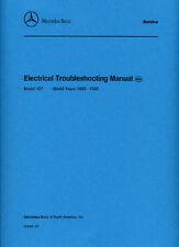 MERCEDES-BENZ 107 risoluzione dei problemi elettrici CAR shop MANUALE BOOK LIBRO