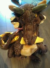 Folkmanis LARGE Earth Dragon Hand Puppet NEW rare discontinued