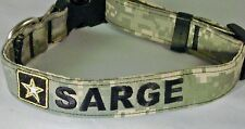 ARMY Logo Custom Personalized Dog Collar