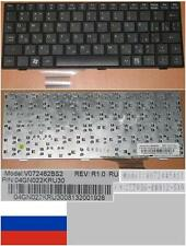 CLAVIER QWERTY RUSSE ASUS EEEPC EEE PC 700 701 900  V072462BS2 04GN022KRU30 Noir
