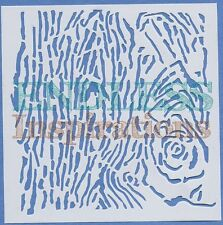 "6""x6"" Endless Inspirations Stencil, Barking Up The Wrong Tree - Free US Shipping"