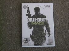 WII-CALL OF DUTY MW3 IN EXCELLENT CONDITION