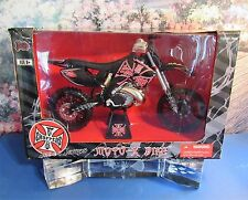 New Jesse James  Moto X Bike 1:6 Scale Highly Detailed Die Cast Metal Rare