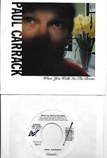 PAUL CARRACK  When You Walk In The Room  rare 45 with PicSleeve