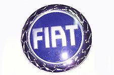 Fregio Stemma Logo Blu Fiat Anteriore Per Fiat Croma Dal 2005   Diametro95mm