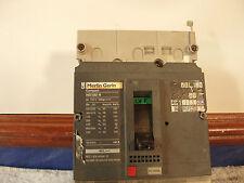 150 Amp Merlin Gerin MCCB 10 NS160N 3P 40A STR22ME w/ Trip Unit!