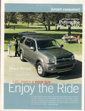 Toyota RAV4 4Runner Highlander Land Cruiser Sequoia 2005 USA Market Brochure